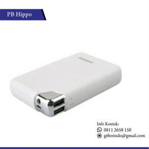 PBH02 - Powerbank Hippo Bronze Putih