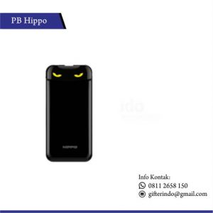 PBH10 - Powerbank Hippo Eyes Cute Black