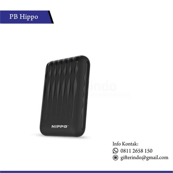 PBH12 - Powerbank Hippo Furry Custom