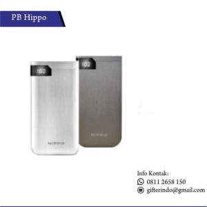 PBH15 - Powerbank Hippo Hiro LED Custom