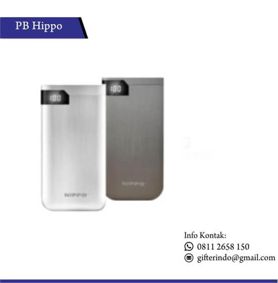 PBH15 - Powerbank Hippo Hiro LED Custom