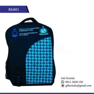 Rb801 Tas Ransel Custom Batik