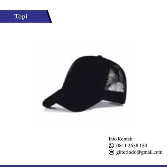 TOP 04 - Topi Jaring Polos Custom
