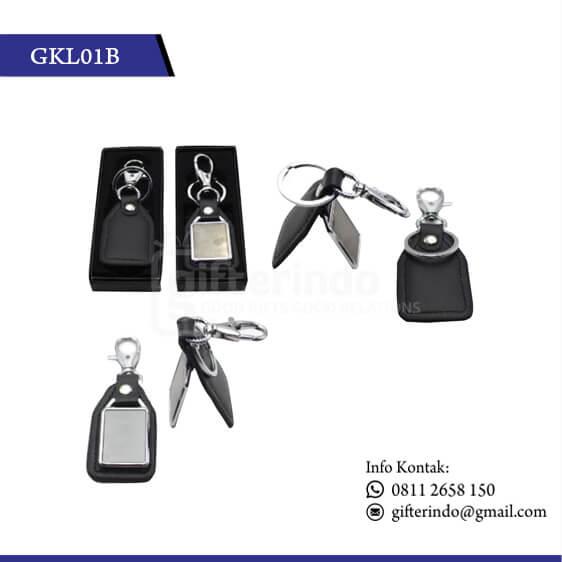 GKL01B Gantungan Kunci Kulit